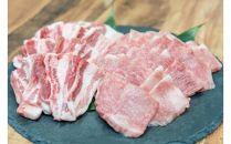 特選豊後牛・大分県産米仕上げ豚焼肉セット 約6~7人前