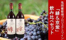 亀岡葡萄畑プロジェクト・ワイン「緋&京紫」飲み比べセット
