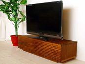 風雅テレビボードテレビ台W1200ウォルナットスリット