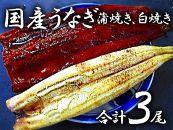 スギヤマ特選国産うなぎ蒲焼きと白焼き!