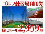 ゴルフ練習場利用券30K