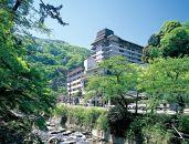 【タオル付!】箱根湯本温泉ホテルおかだランチバイキング&温泉入浴ペア招待券
