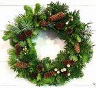 美流渡の森フレッシュ・クリスマスリース1