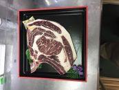 長崎和牛出島ばらいろTボーン(骨付きロース・ヒレ)ステーキ約400g・Lボーン(骨付きロース)約400gステーキセット