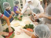 ますのすし手作り体験と源特製のふるさと納税限定お食事セット