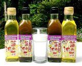 菜の花油2種食べ比べセット(180g×各2本)