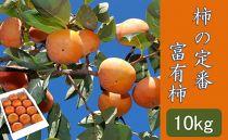 """【ポイント交換】柿の定番""""富有柿""""10kg"""