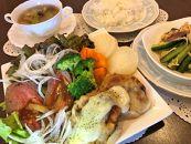 野菜たっぷりヘルシーローストビーフコース(2名様分)