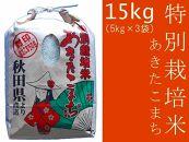 あきたこまち「特別栽培米あきたこまち15kg」仙北こまちの会