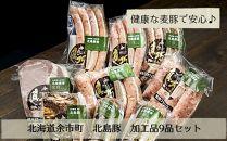 北島農場「北島豚」加工品9品セット