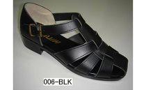 【ブラック/L】紳士用(ドライビング)サンダルI(MW006)ブラック
