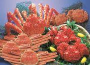 【数量限定】北海道美味4大蟹のフルコースセット(網走加工)