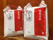 南魚沼産新之助 桑原農産のお米10kg