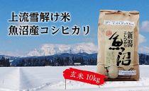 【令和二年産】豪雪地帯ならではの風土が育んだ魚沼コシヒカリ(玄米10㎏)