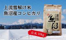【令和元年産】豪雪地帯ならではの風土が育んだ魚沼コシヒカリ(白米10㎏)