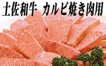 蔵多堂の厳選土佐和牛カルビ 焼き肉用 (約500g)/2~3人前