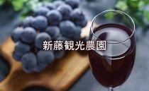 【新藤観光農園】秋限定‼完全無添加☆藍葡萄の雫☆