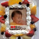 MR01-10サプライズに最適!写真ケーキ2~3人用SSサイズ(生クリーム・生チョコ)