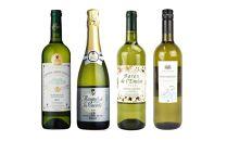 白・スパークリングワイン4本セット 冬