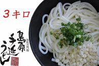 島原手延べうどん【3kg】 高橋優製麺所
