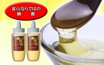【富山ならではの珍しい蜂蜜】富山県産水島柿蜂蜜500g 2本セット