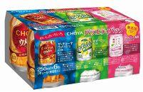 チョーヤCHOYA250ml缶×6缶アソート×4セット×2ケース(48本)「リニューアル」