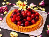 クリスマス限定!ケーキ&チキンセット「ベリータルト&丸ごとチキン」