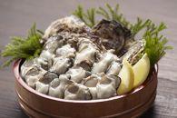 プレミアムトップかき 森脇水産生牡蠣むき身・殻付きセット(加熱用)1㎏と10ヶ