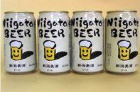 【大人気】新潟麦酒ビール(350ml×4缶)