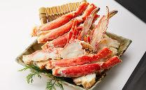 【板前魂の蟹】カット済 ボイルたらば蟹3㎏(1kg×3パック)