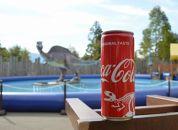 コカ・コーラ ご当地限定デザイン 恐竜缶バージョン