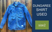 CK05 【size2】DUNGAREE SHIRT USED
