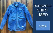 CK07 【size4】DUNGAREE SHIRT USED