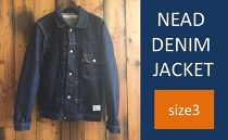 CK18 【size3】NEAD DENIM JACKET