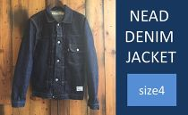CK19 【size4】NEAD DENIM JACKET