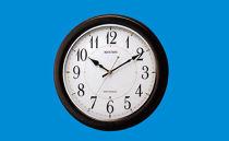 リズム電波掛時計
