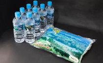 段丘の華と津南の天然水