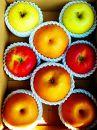 北條農園の有機肥料、低農薬栽培の【梨とりんごの味比べ】中箱