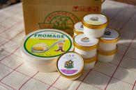 東京で一番美味しい牛乳「みるくの黄金律」のフロマージュとアイス3種類(×2個)セット