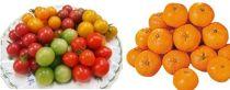 「栗林農園」カラフルミニトマト詰合と日の丸みかんのセット