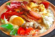 豪華海鮮具材たっぷり!旭川ちゃんこ鍋セット(スープ付き)