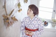 北欧スタイルの麻の花オーダーメイド浴衣