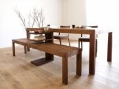 CARAMELLA  Bench wood 154 walnut