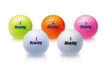 AF31SMゴルフボール3ダース(NEWINGsupersoftfeelカラー:イエロー)