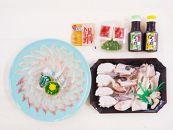日出産クエの刺身とクエの鍋セット(4人前)【着日指定可】