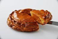 かりかりに焼いたリンゴパイ