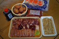 満喫!!特産「近江しゃも」の軍鶏鍋三昧セット