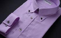 オーダーワイシャツBP(ノーアイロン仕様)/奈良県川西町産「黒蝶貝」を使用