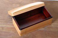 関内潔 木のお弁当箱(クリア)