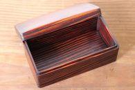 関内潔 木のお弁当箱(うづくり)